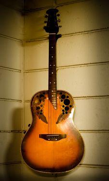 Old Guitar Stock Photos