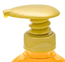 Dispenser Bottle Of Liquid Soap. Stock Photography