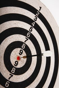 Free Dartboard Target Royalty Free Stock Images - 19675049