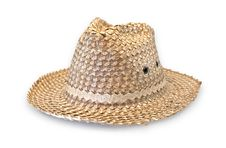 Free Wicker Hat Royalty Free Stock Image - 19675226