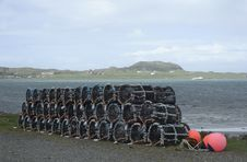 Free Mull Lobster Pots Royalty Free Stock Photo - 19675485