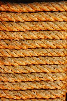 Free Rope Light Brown. Royalty Free Stock Image - 19675686