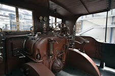 Free Detail Of Old Steam Locomotive Royalty Free Stock Image - 19676136