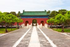 Free Chinese Palace Gate Royalty Free Stock Photography - 19676307