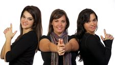 Young Adults Posing Royalty Free Stock Photo