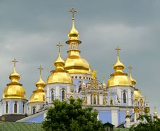 Free St. Michael S Golden-Domed Monastery At The Kiev Stock Photos - 19676863
