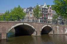 Free Keizersgracht Amsterdam Stock Image - 19678061