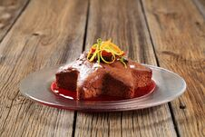 Free Star-shaped Gingerbread Cake Stock Image - 19678501