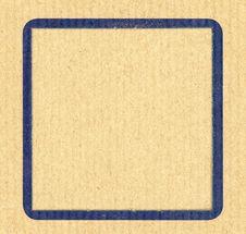 Free Blue Frame Background Royalty Free Stock Photos - 19679638