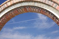 Free Brickwork Arch Stock Images - 19679854