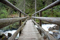 Free Wooden Bridge Royalty Free Stock Photo - 19689585
