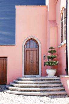 Free Pink House Stock Image - 19680211
