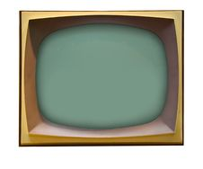 Free Old TV Royalty Free Stock Image - 19681166