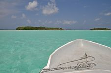 Free Boat Trip In The Maldives Stock Images - 19681674