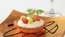 Free Cream Tart Stock Image - 19681911