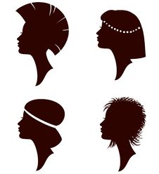 Free Different Hairstyle Royalty Free Stock Images - 19682099