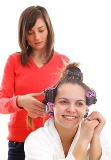 Free Hair Styling Stock Images - 19682504