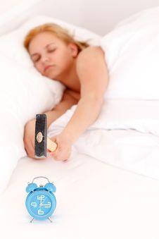 Free Sleepy Woman Stock Image - 19682511