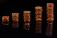 Free Money Coins Royalty Free Stock Image - 19682516