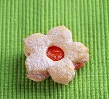 Free Jam Biscuit Stock Photography - 19683332