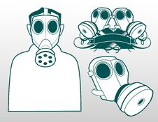 Free Gas Masks Stock Image - 19683581