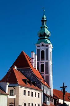 Free Church In Cesky Krumlov Royalty Free Stock Photos - 19684728