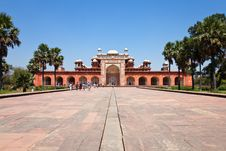 Free Tomb Of Akbar The Great Stock Image - 19685061