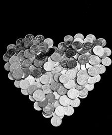 Free Pile Of Coins Royalty Free Stock Photography - 19685627
