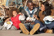Free Happy Family Having Picnic Stock Photo - 19685630