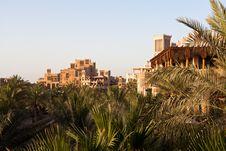 Madinat Jumeirah Resort Dubai Royalty Free Stock Photos