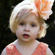 Free Little Girl Royalty Free Stock Photography - 19687127