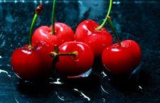 Free Red Cherry Stock Photography - 19687282