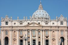 Free St. Peter S Basilica Stock Image - 19687611