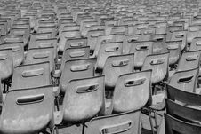 Free Multiple Chairs In Rows. St Peter S Square Stock Images - 19687714