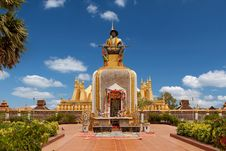 Free That Luang In Vientiane Stock Image - 19687781