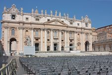 Free St. Peter S Basilica Royalty Free Stock Photos - 19687788