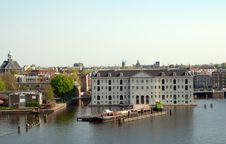 Free Amsterdam Canals And Typical Houses . Royalty Free Stock Photo - 19687835