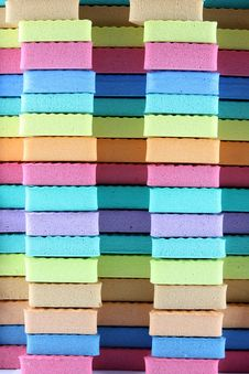 Free Colorful Foam Royalty Free Stock Photo - 19688305