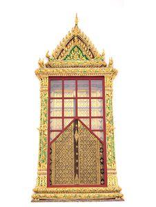 Free Thai Window Style Stock Photo - 19688800