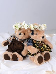 Free Teddy Bears Royalty Free Stock Image - 19689136