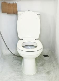 Free Toilet Royalty Free Stock Images - 19689849