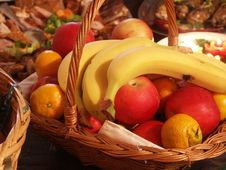 Free Fruit In Basket Stock Photo - 19689870