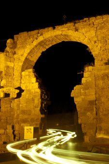 Gate To Temple Of Apollo Stock Photo