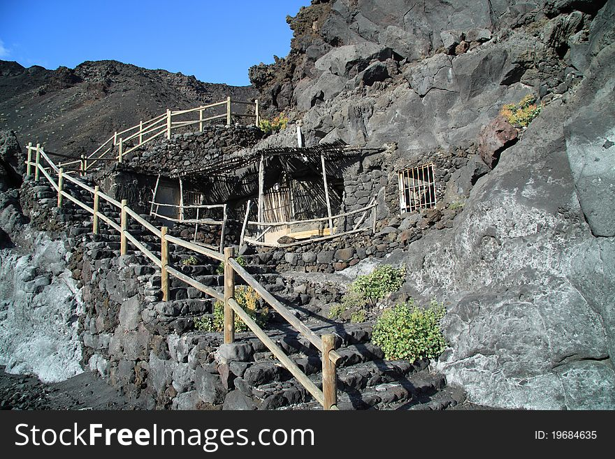 Volcano Teneguia