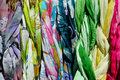 Free Colorful Scarves On A Rack Stock Photos - 19692173