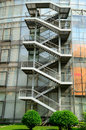 Free Steel Staircases Of Energy-saving Building Royalty Free Stock Images - 19692999
