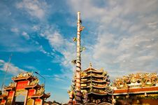 Free Nezha,Naja Chinese Temple Royalty Free Stock Photo - 19690045