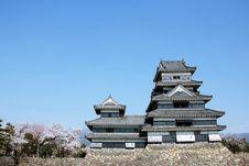 Free Matsumoto Castle Stock Photography - 19690072