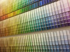Free Color Paint Swatches Stock Photography - 19690422
