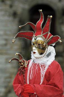 Free Venetian Carnival Mask Stock Images - 19690584